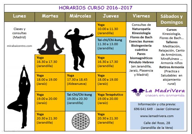 horarios_lamadrivera_2016-2017